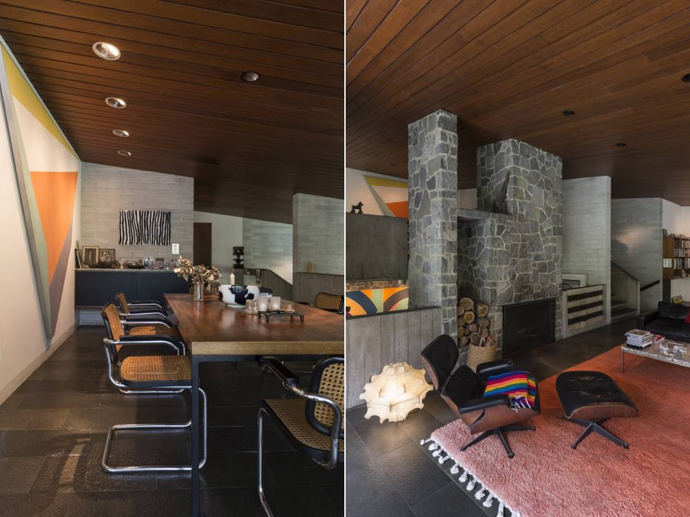 Harry and Penelope Seidler house interior