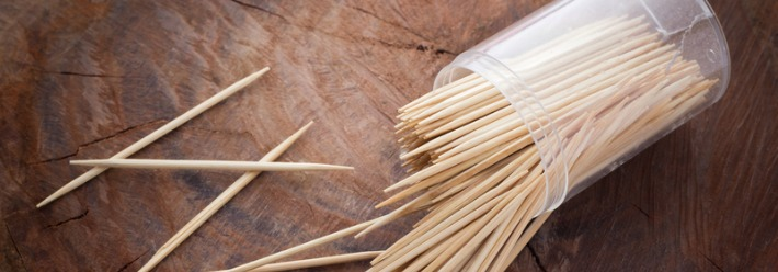 Have toothpicks on hand for detailed cleaning