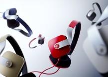 Headphones in varied colours