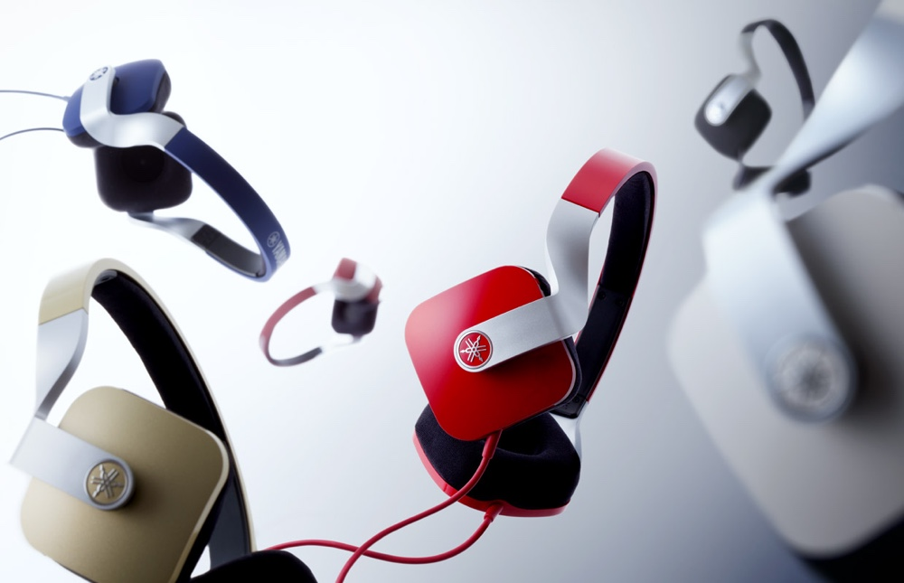 Headphones in varied colours