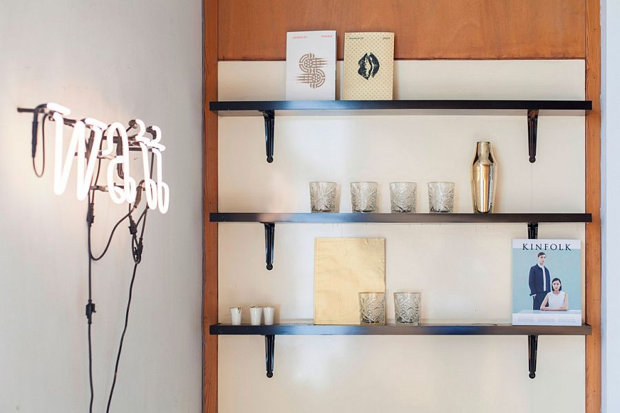 Industrial lighting adds elegance to every nook in the house