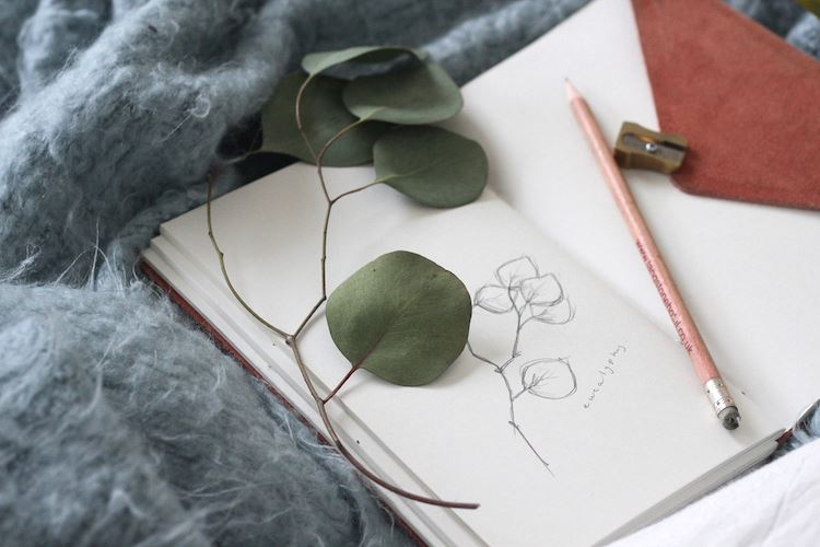 Journaling in bed can spark creativity