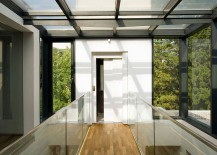 Lovely walkways and bridges encourage mobility and interaction within the home