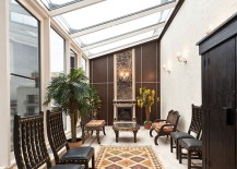 Make use of available space to create a smart sunroom