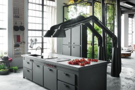 Mina multi-functional island becomes the heart of the new kitchen