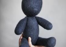 Minimalist teddy bear