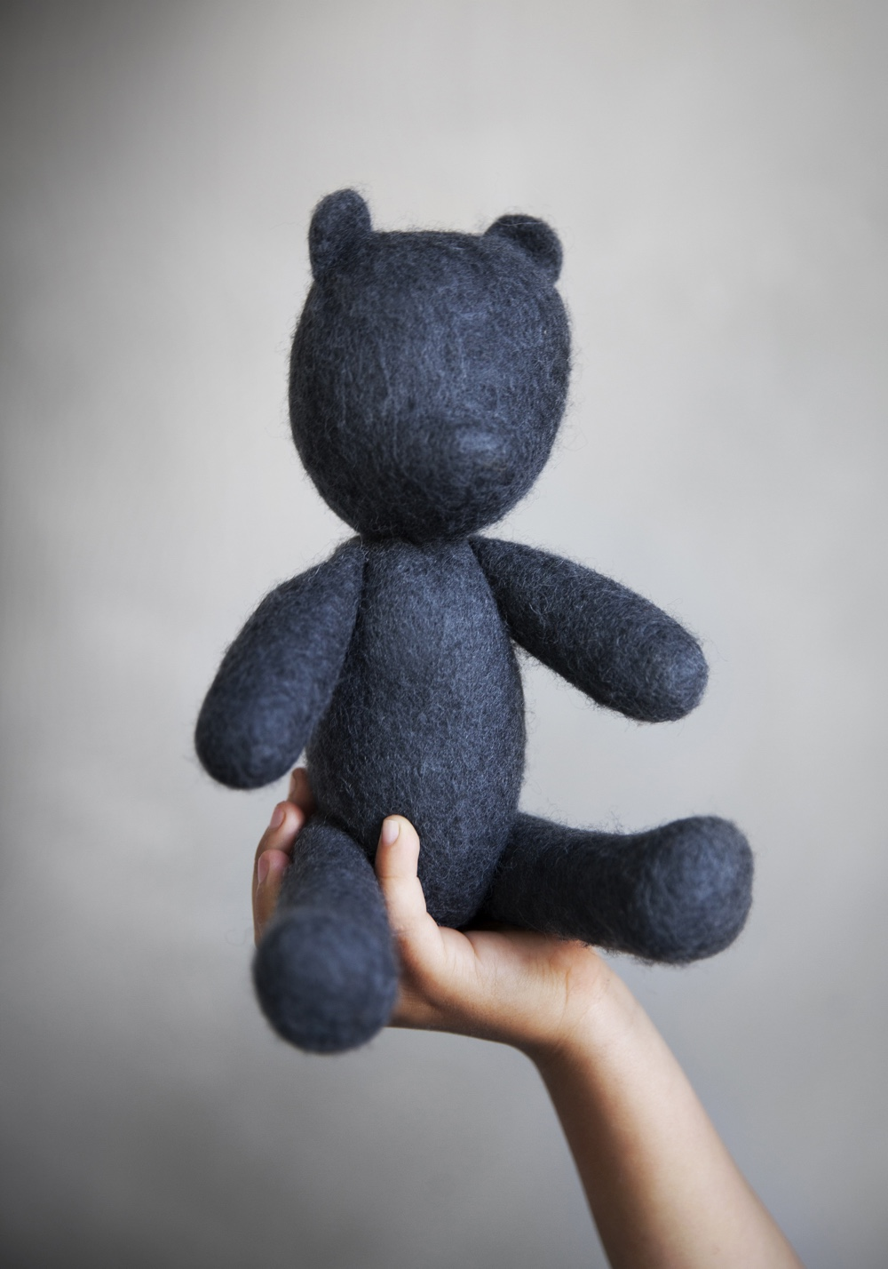 Minimalist teddy bear