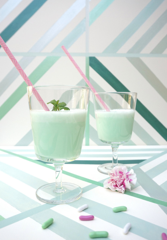 Minty milkshake from Mirror80