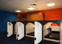 nap pod capsules in london office