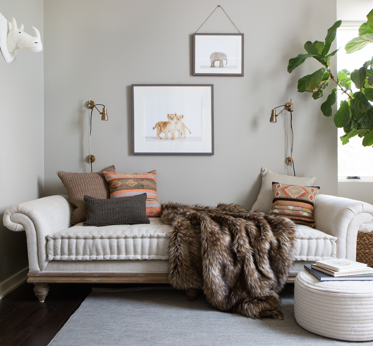 Nursery daybed from Restoration Hardware
