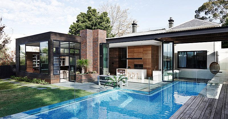 Old Victorian residence in Malvern with a contemporary rear extension Sophisticated Fusion of Styles Amaze Inside Revamped Victorian Home