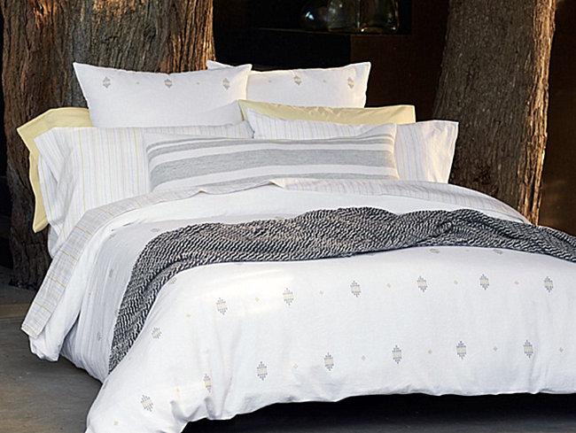 Organic bedding from Coyuchi