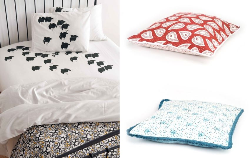 Organic bedding from Plover