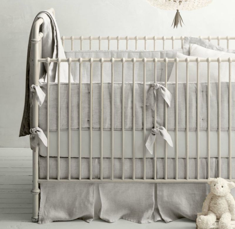 Organic nursery bedding from RH Baby & Child