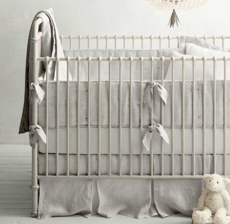 Organic nursery bedding from RH Baby & Child