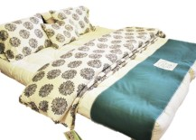 Organic sateen duvet cover from White Lotus Home
