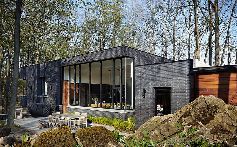 Outdoor patio and livings spaces become an extension of the interior