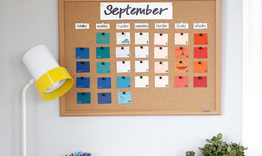 20 Creative Calendar Design Ideas
