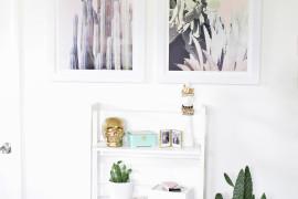Pastel cactus prints make a soft, stylish statement
