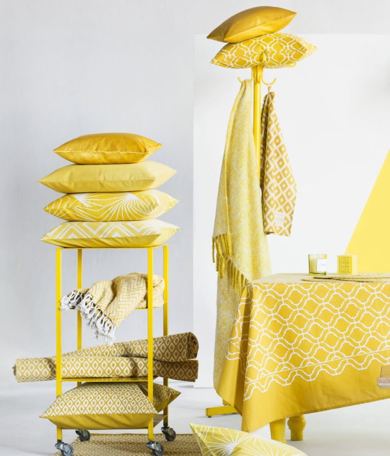 Patterned cushion covers from H&M Home