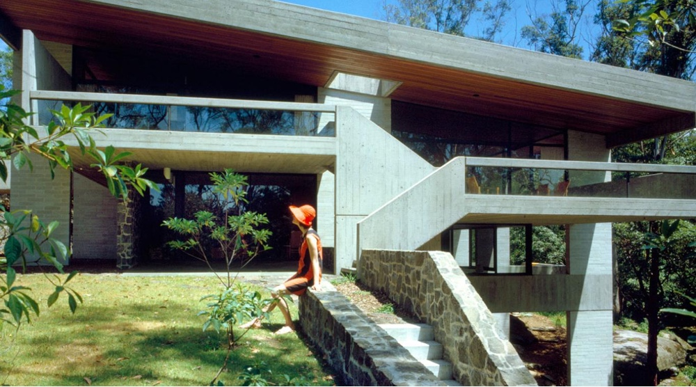 Penelope Seidler at the Killara House