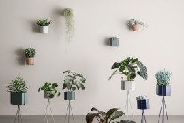 Plant stands and pots from ferm LIVING