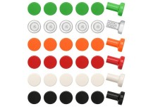 Plastic knobs from IKEA 217x155 12 Creative Ideas for Handles, Knobs and Pulls