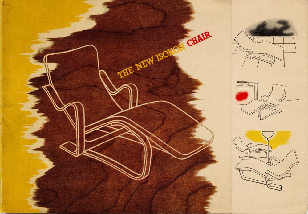 Promotional leaflet Isokon Long Chair part 1