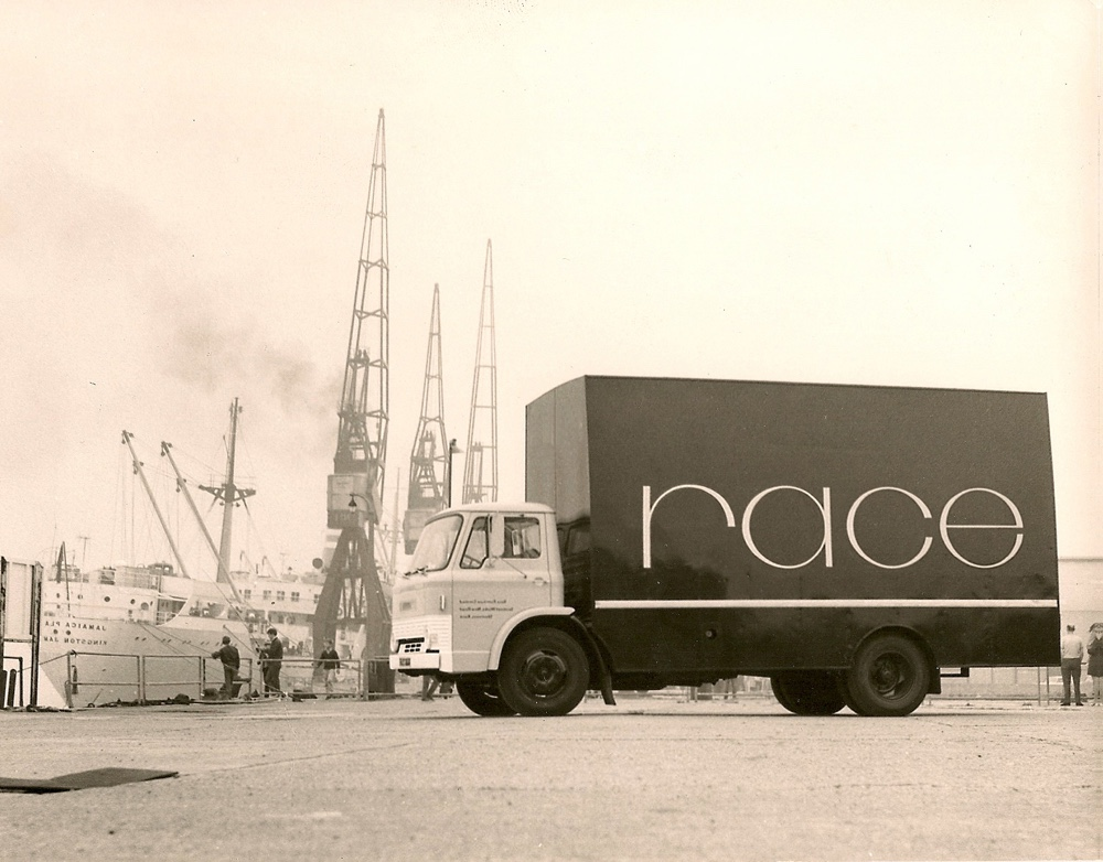 Race Furniture lorry in London