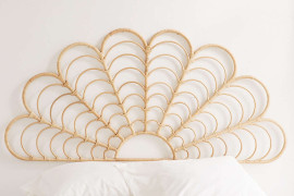 Rattan headboard from Urban Outfitters