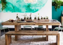 Wonderful Embrace The Relaxed Style Of Indoor Picnic Tables