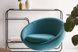 Retro-modern chair from Urban Outfitters