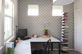 Right chair and desk can make a big difference in the home office