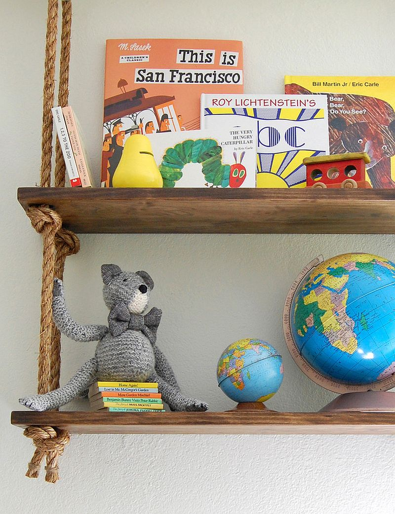 Inspired Displays 20 Unique Shelves For A Creative Kids Room