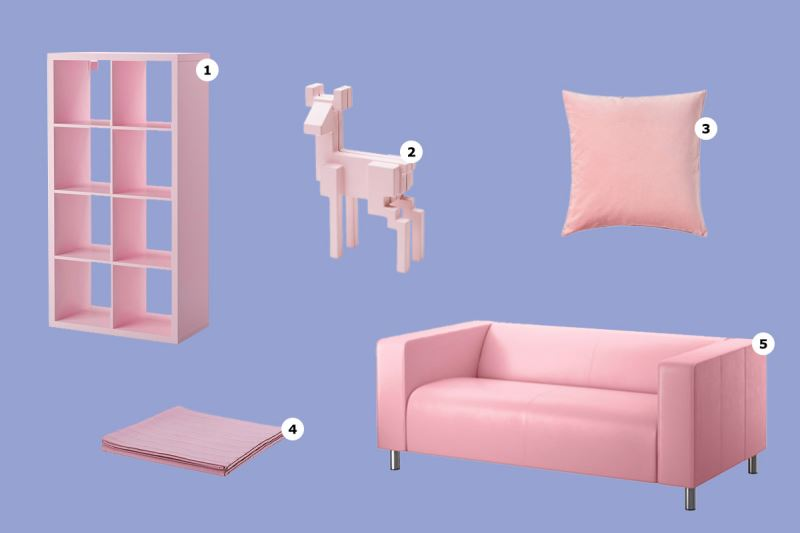 Rose Quartz offerings from IKEA