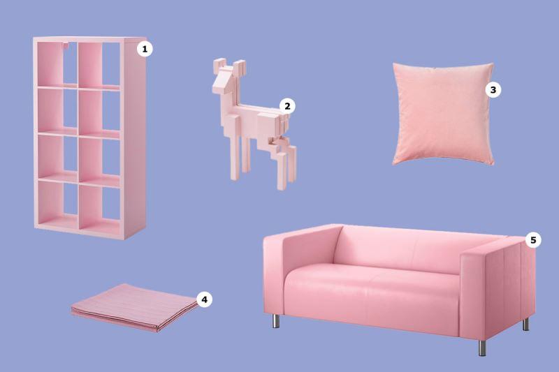 Rose Quartz offerings from IKEA
