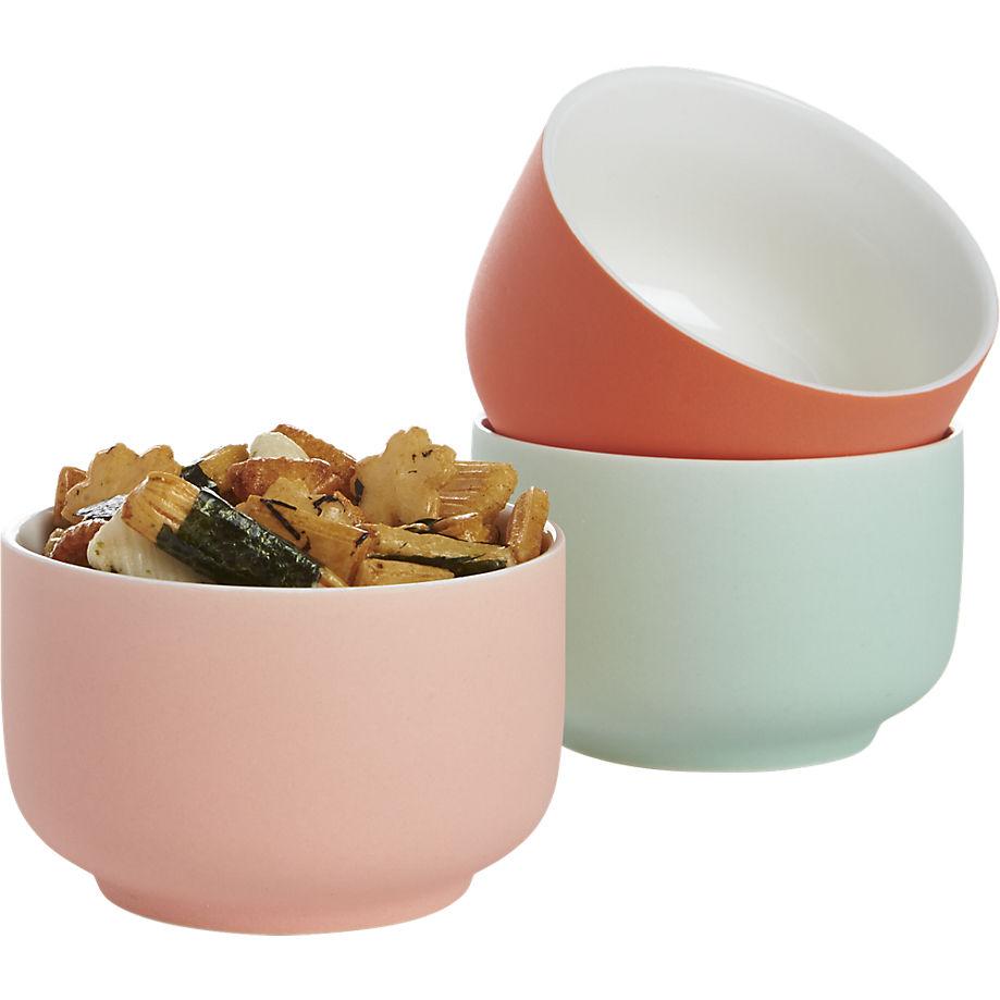 Roundish Mini Bowls from CB2