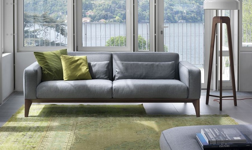 Refresh Your Living Room: Trio of Comfy Modern Sofas from Porada