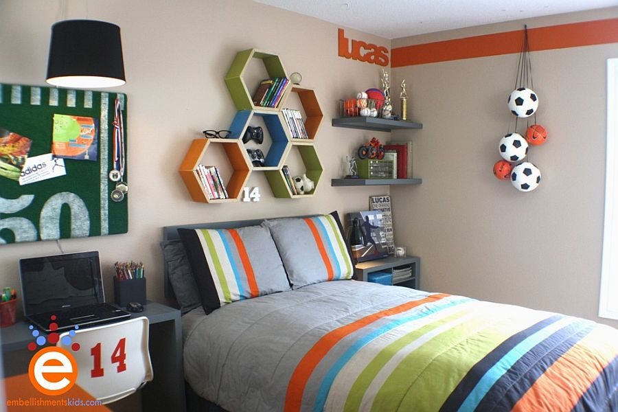 Simple Hexagonal Shelves Never Go Out Of Fashion Design Embellishments Kids