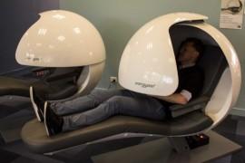 Sleeping pods at Edith Cowan University