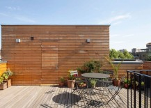 Urban Green Space: Lowered Rooftop Garden Enlivens Modern London Home