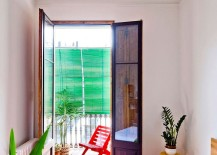 Small-balcony-connected-with-the-modern-bedroom-of-the-Barcelona-apartment-217x155