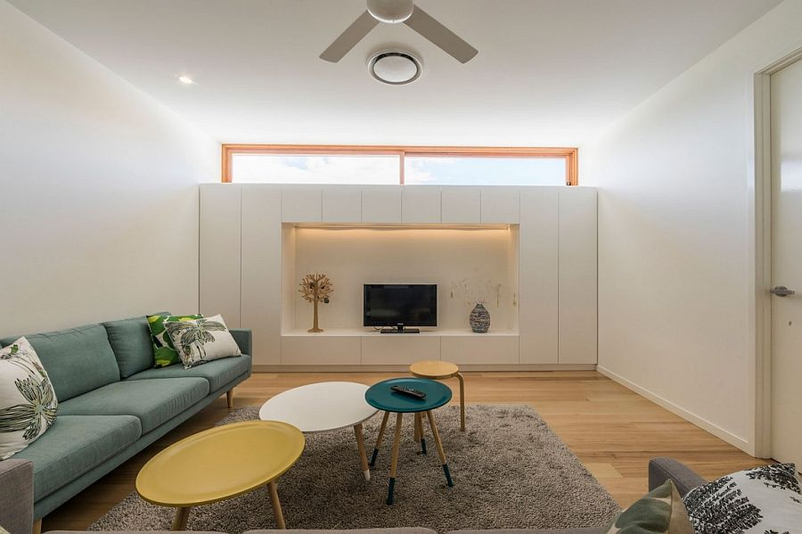 Smart Tv and family room design