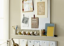 Stainless steel wall system from Pottery Barn