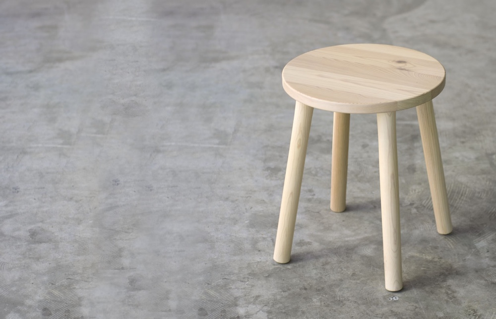 Stool for Muji