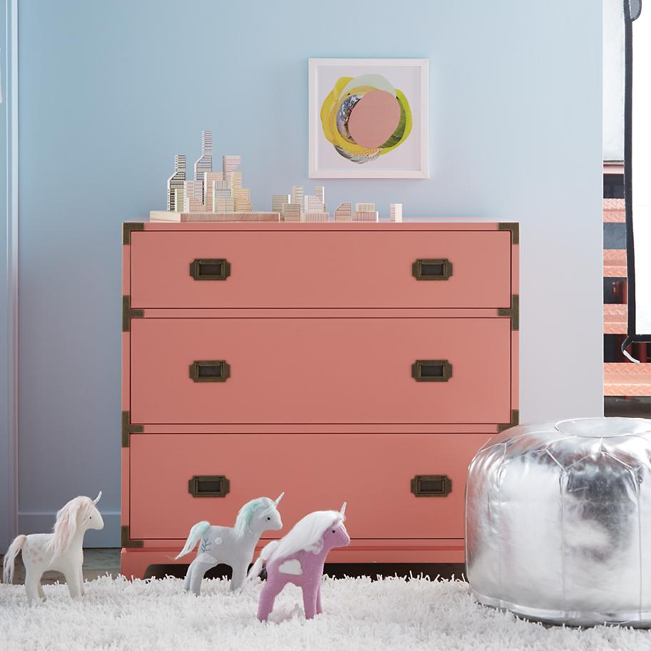 Stylish dresser from The Land of Nod