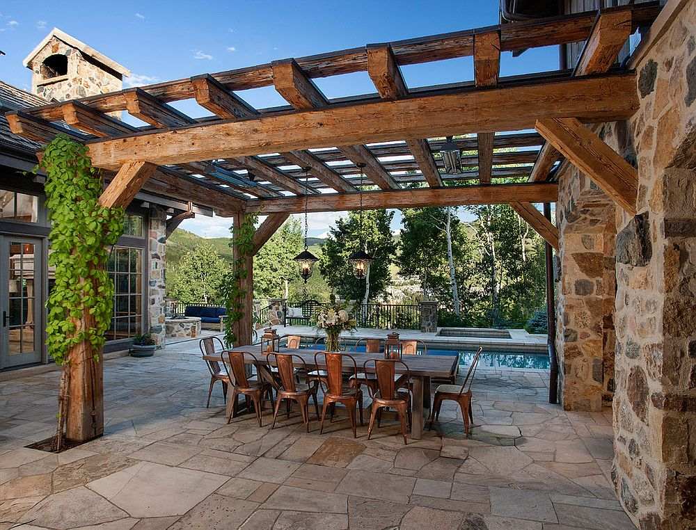 Take the vintage French icon outdoors! [Design: Shaeffer Hyde Construction]