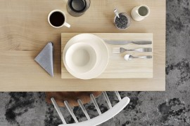 Teema and Kartio with Citterio cutlery