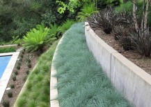 Terraced garden organized by plant type 217x155 How to Landscape Without Overdoing It