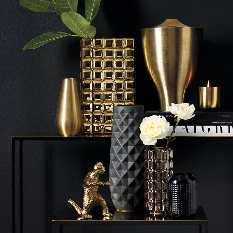 Textured vases from CB2